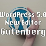 wordpress 5.0 new editor gutenbergについて