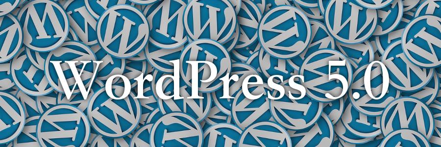 WordPress5.0 UPDATE